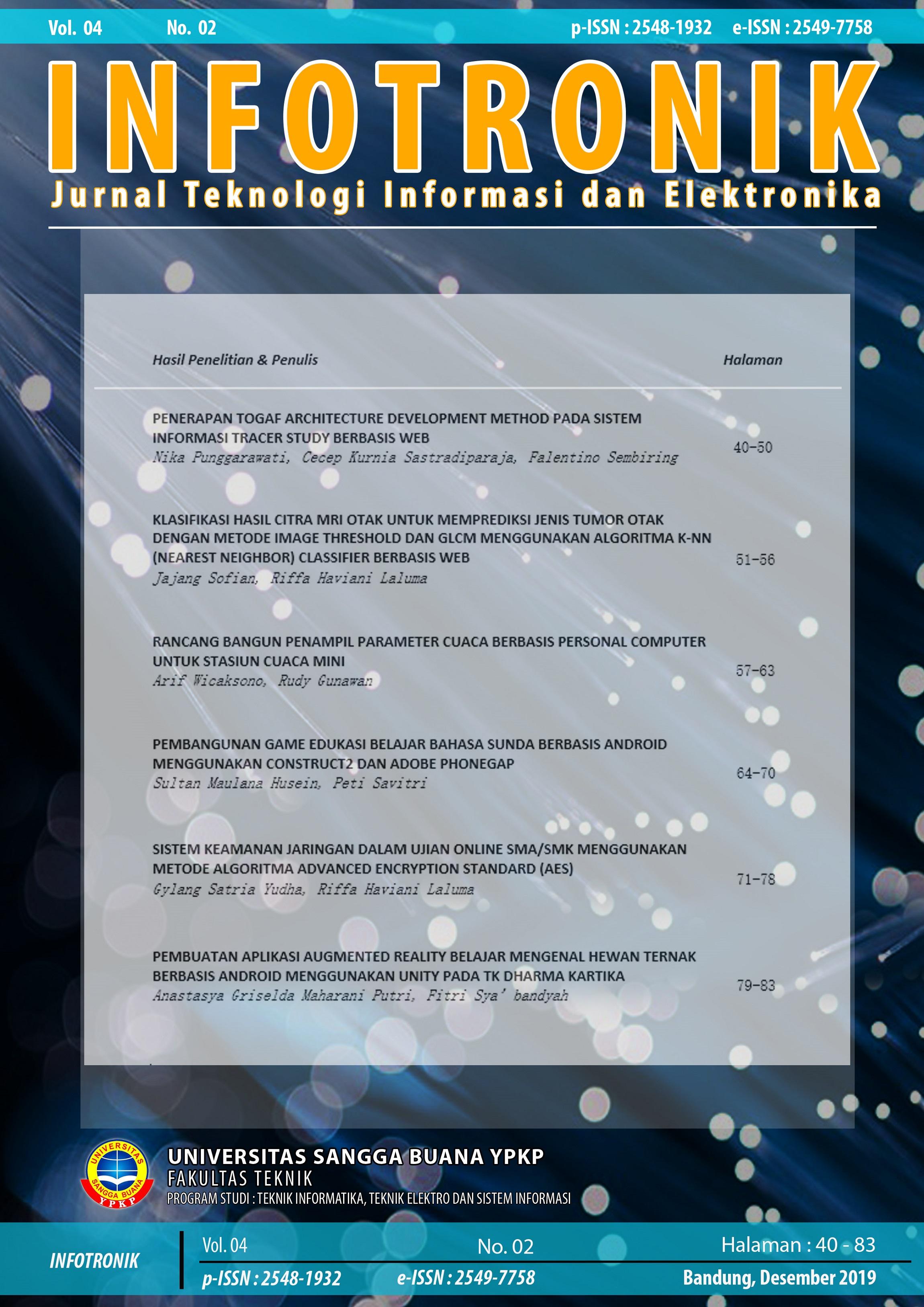 Infotronik_Front_Cover_vol.4No.2